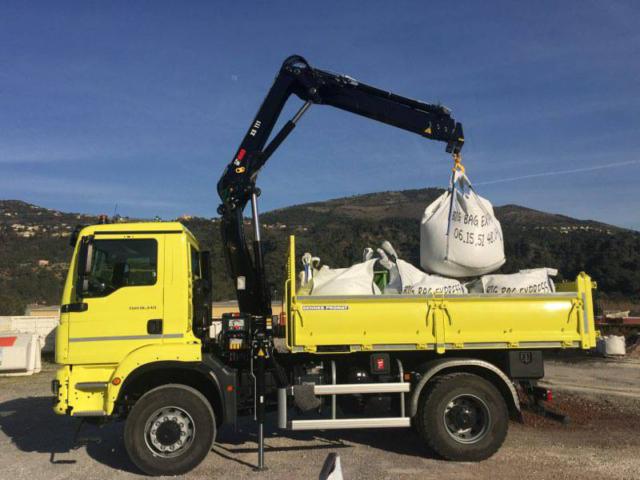 Big Bag Express - Camion grue