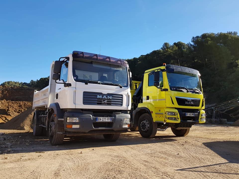 Camions Granulats big bag express