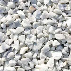 gravier marbre blanc carrare 8/12mm
