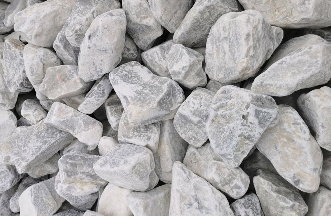 pierre pour cage à gabion gros bleu